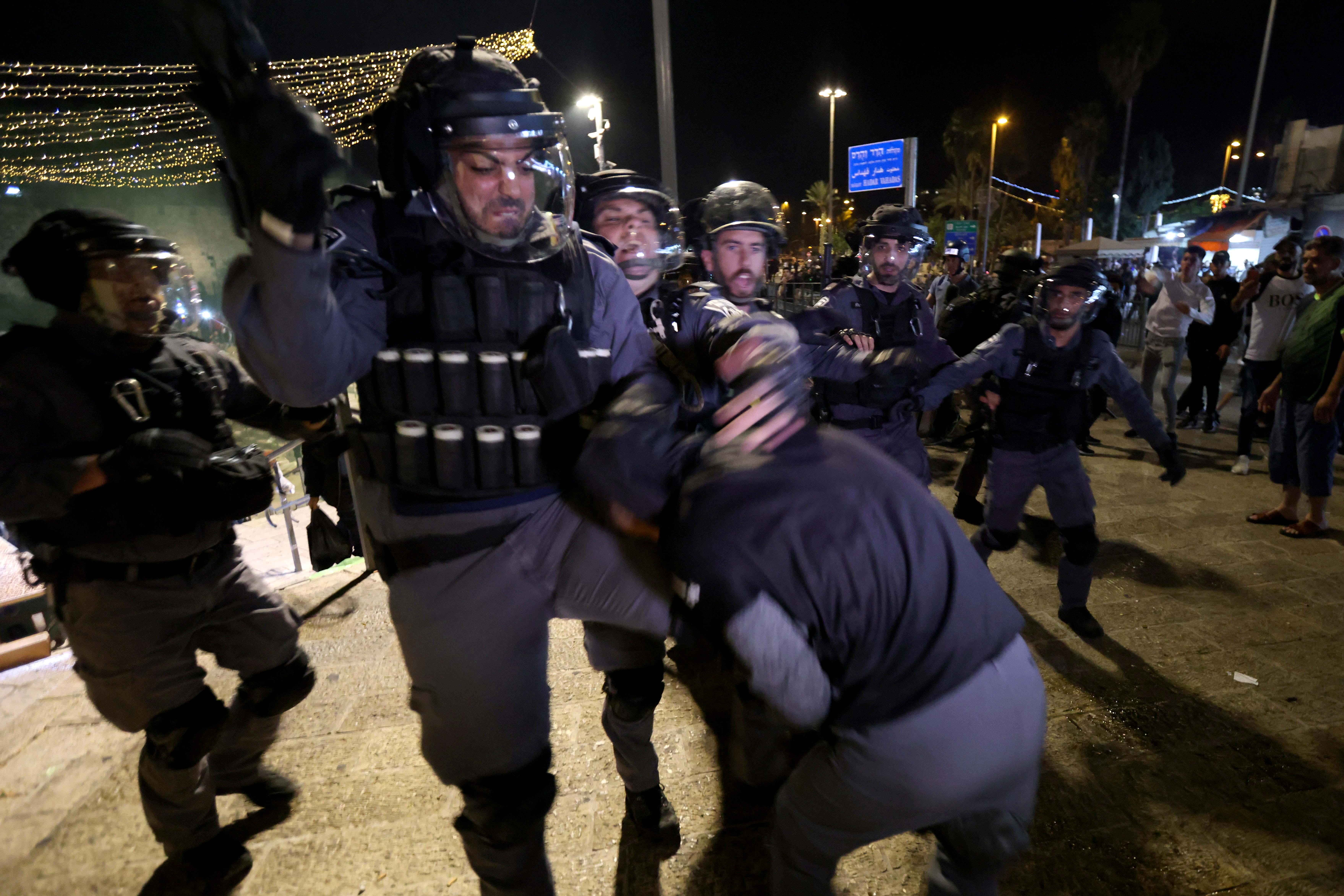 الأسابيع الأخيرة شهدت تصاعدا بالتوتر في القدس.