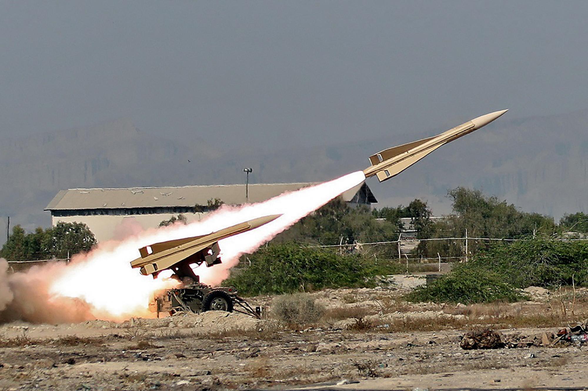 המצפה אמר כי הטילים הם מסוג קרקע-קרקע