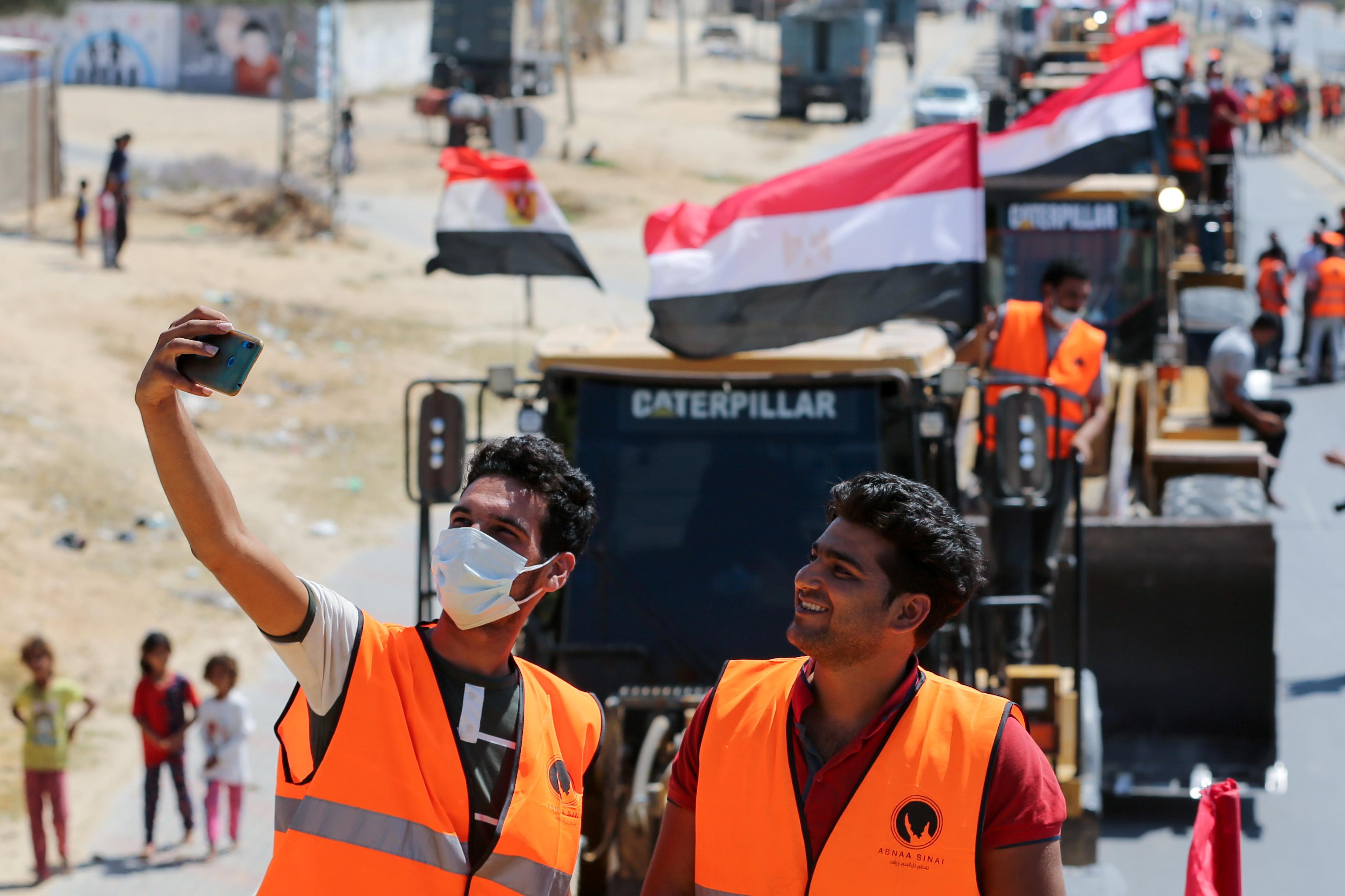 L'Egypte a annoncé 500 millions de dollars US pour la reconstruction