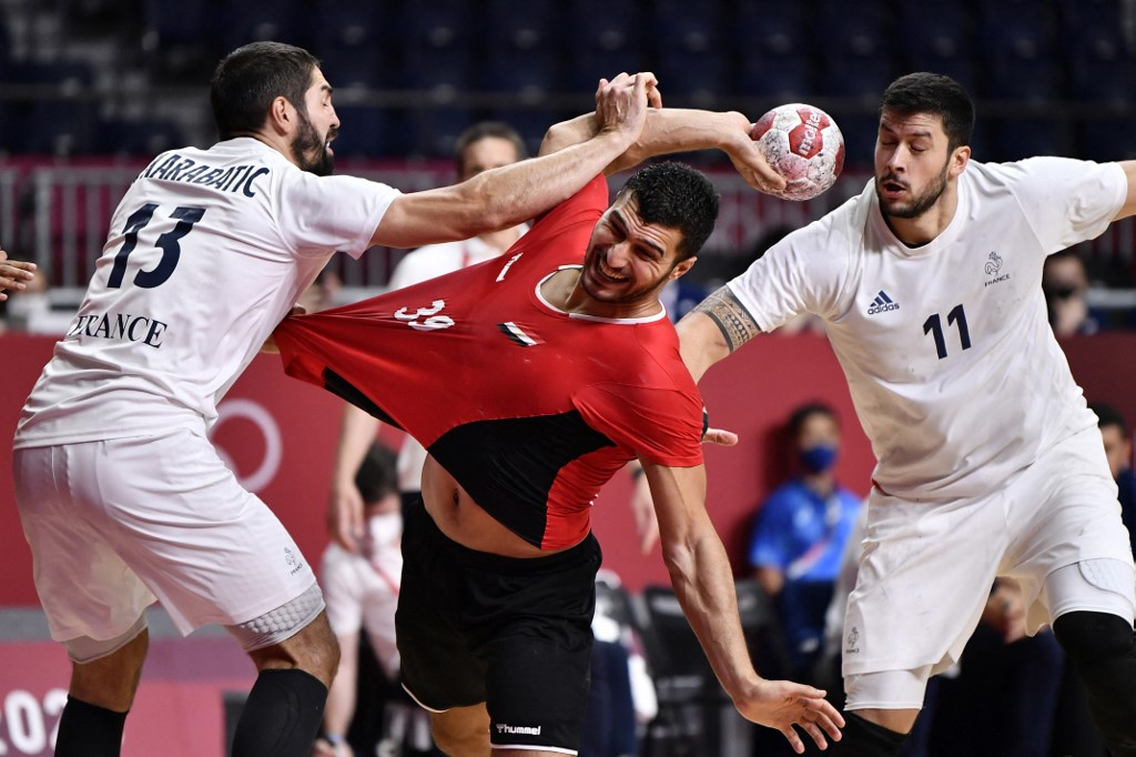 مصر وفرنسا كرة يد