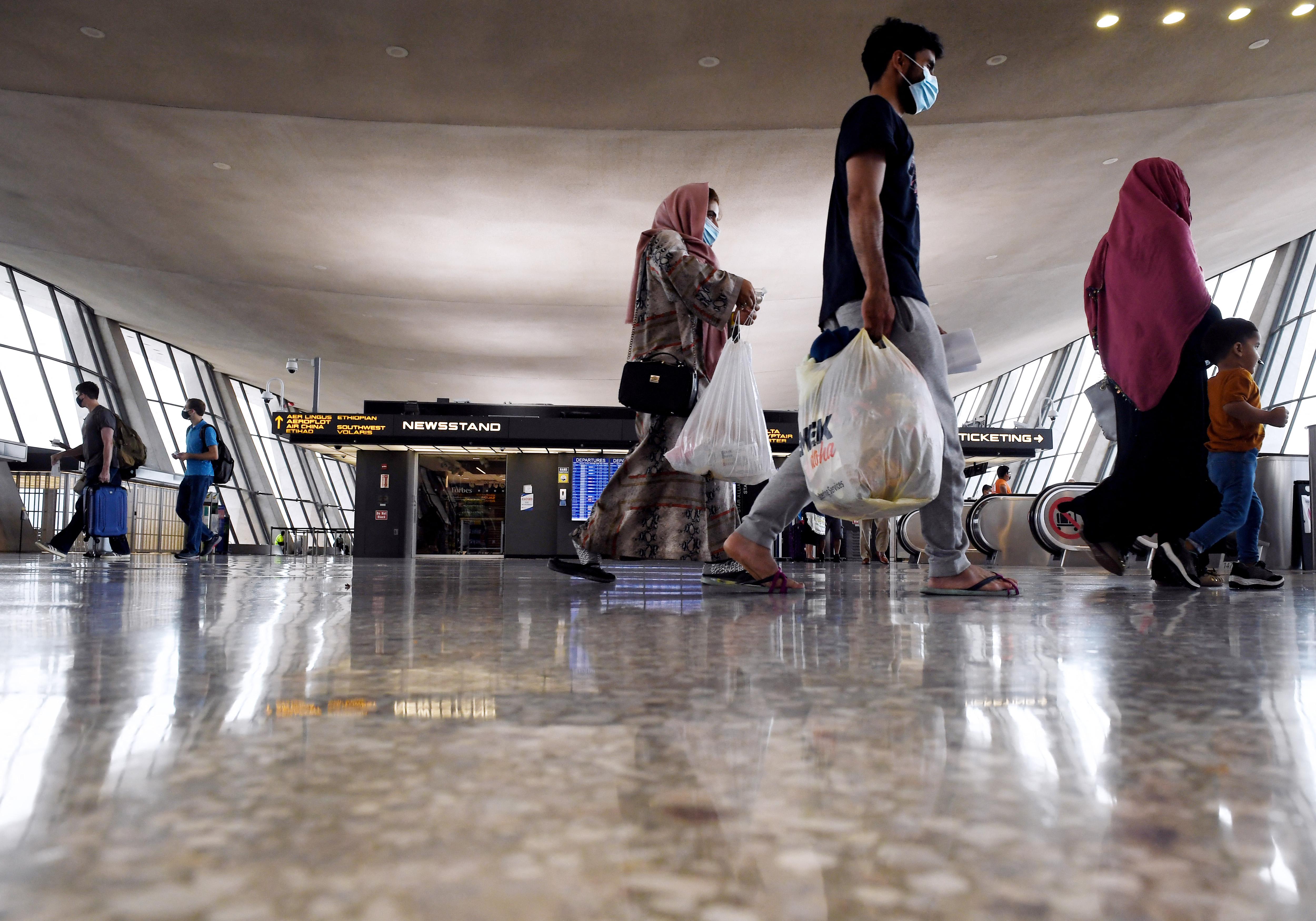 الولايات المتحدة تعلن خطة لرفع عدد اللاجئين في العام المقبل