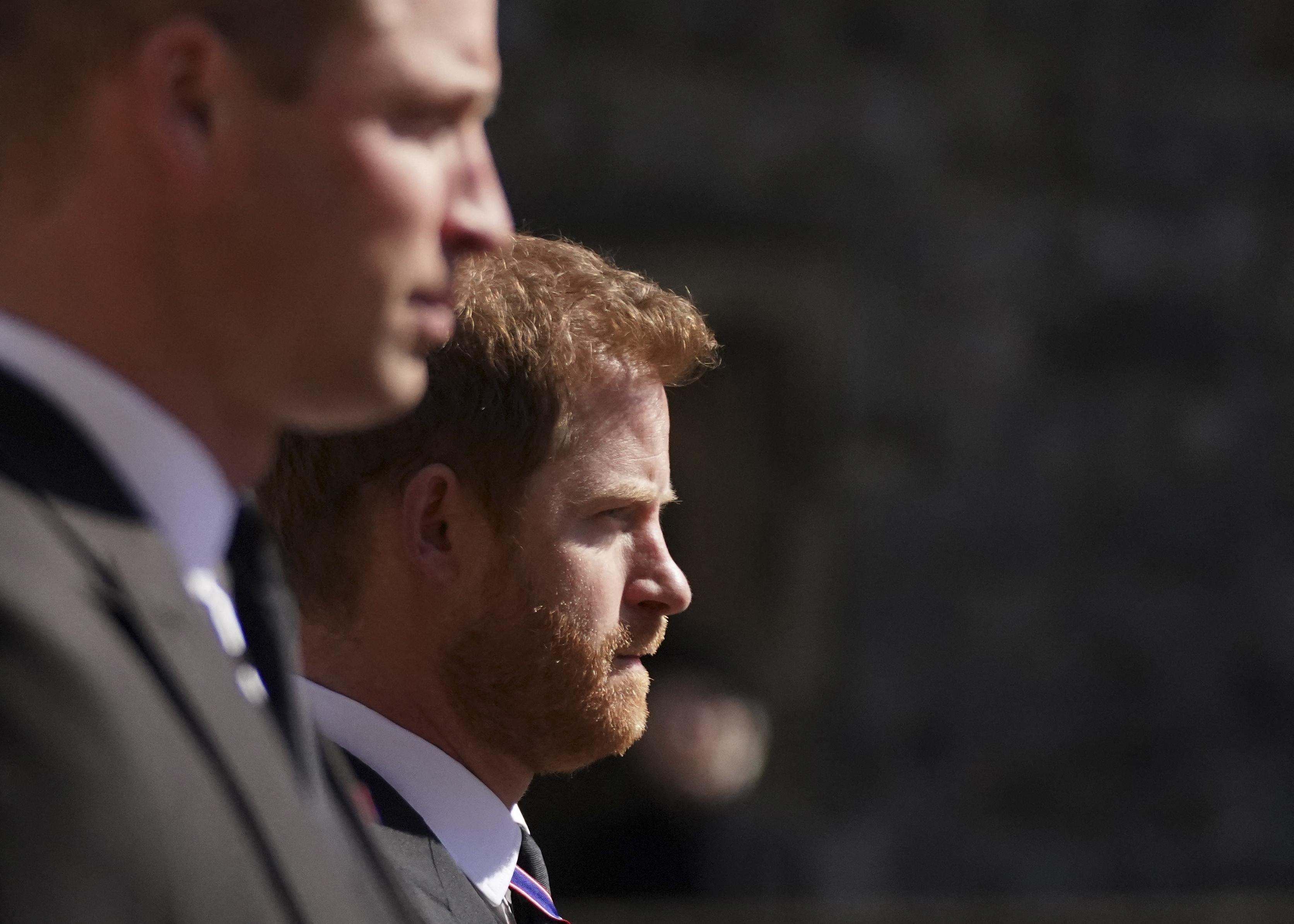 ALTERNATIVE CROP VERSION - Britain's Prince William, Duke of Cambridge, Peter Phillips and Britain's Prince Harry, Duke of…