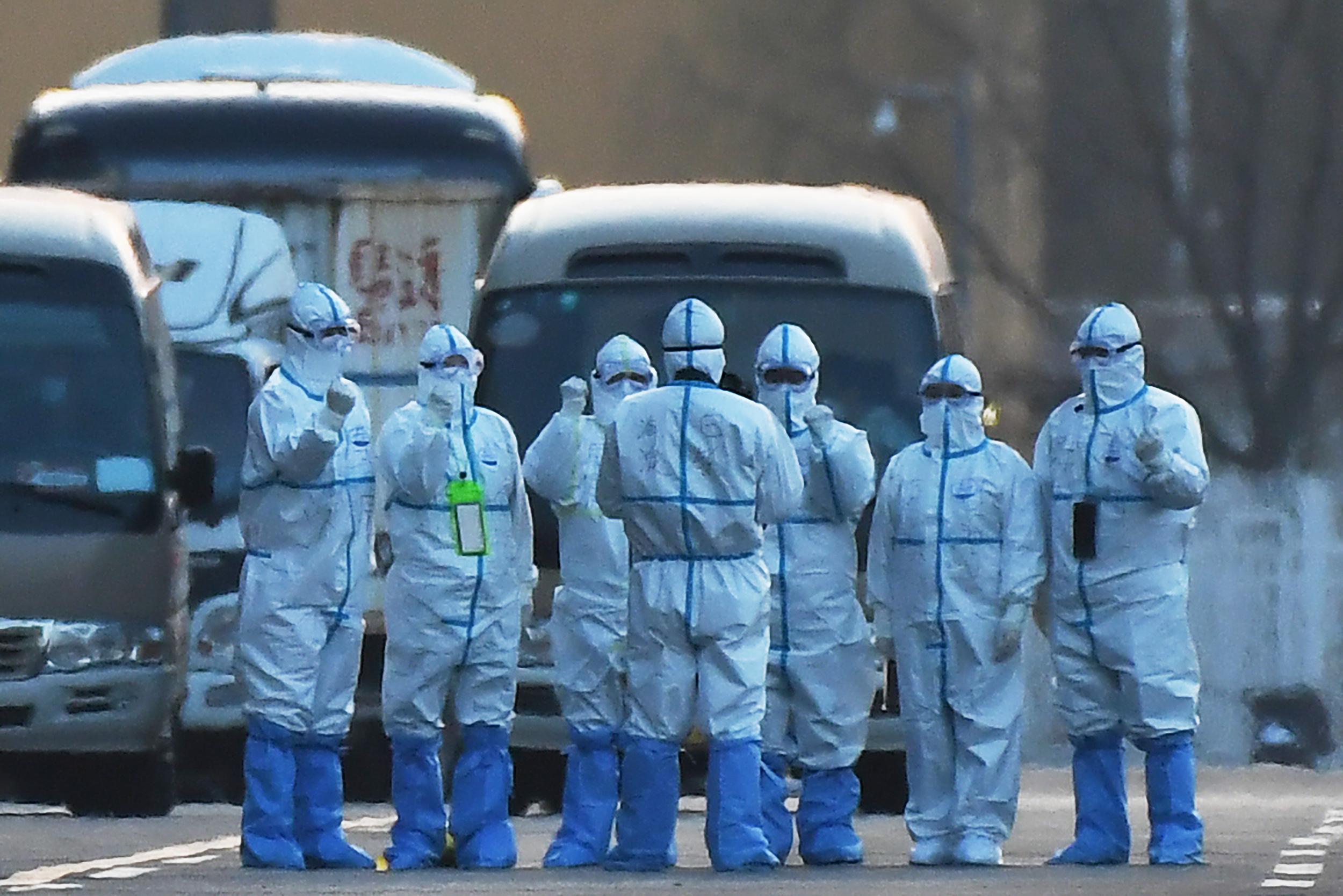 سُجلت الوفيات الجديدة في إقليم هوبي، بؤرة تفشي الفيروس في الصين