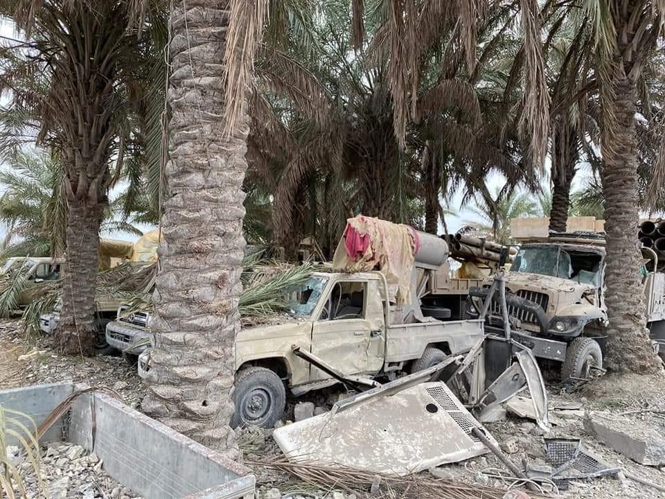 دمرت الضربات الأميركية خمسة مواقع تستخدمها ميليشيا كتائب حزب الله في العراق