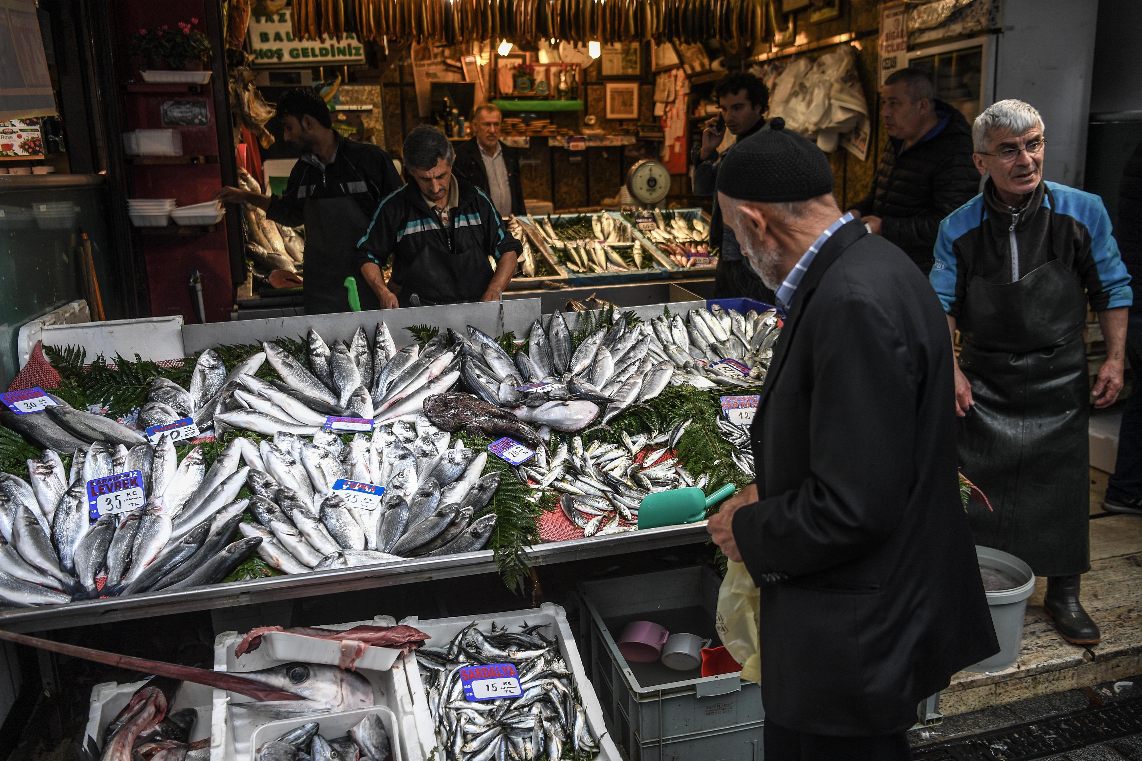 متجر لبيع السمك