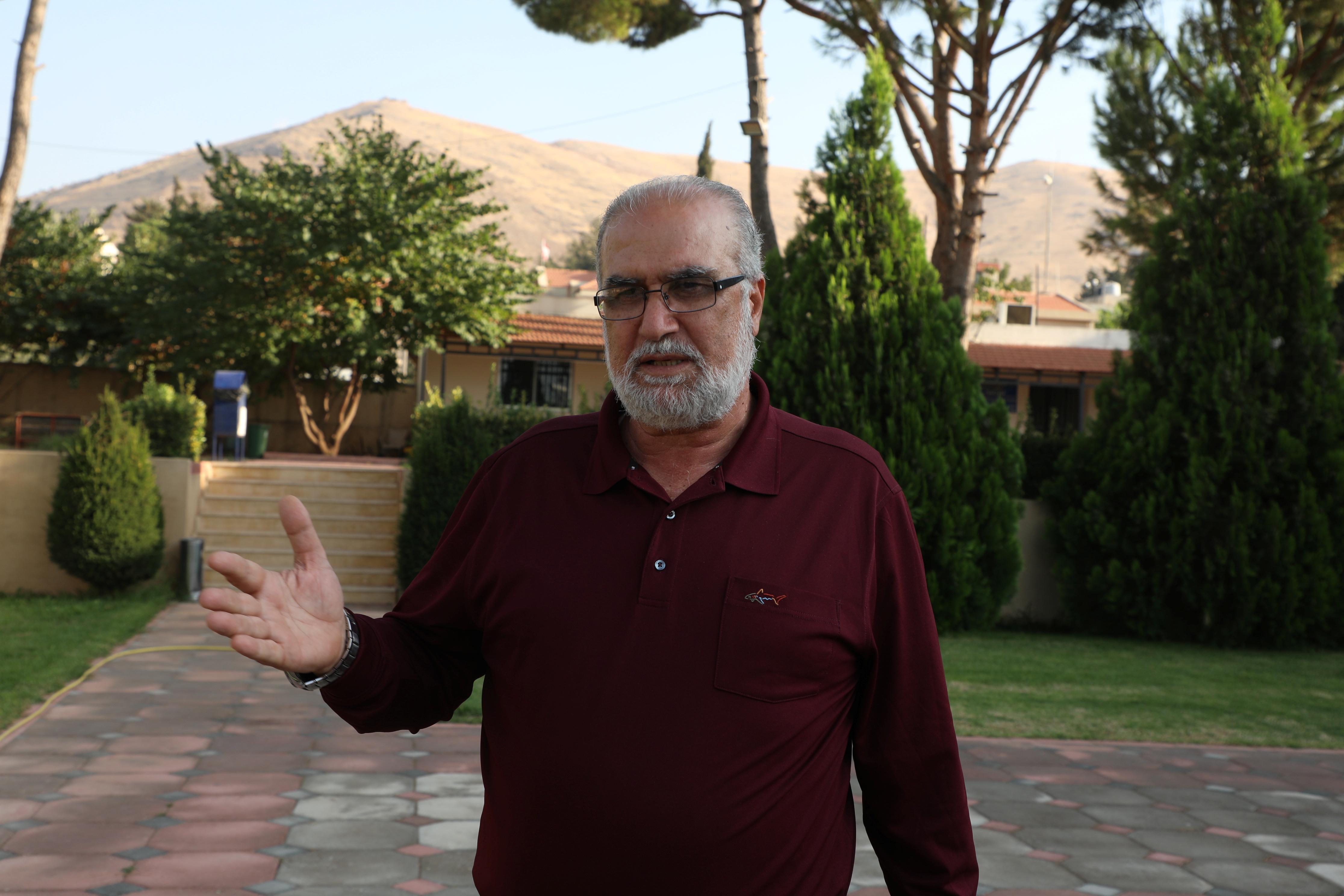 رئيس بلدية عنجر فارتكيس خوشيان