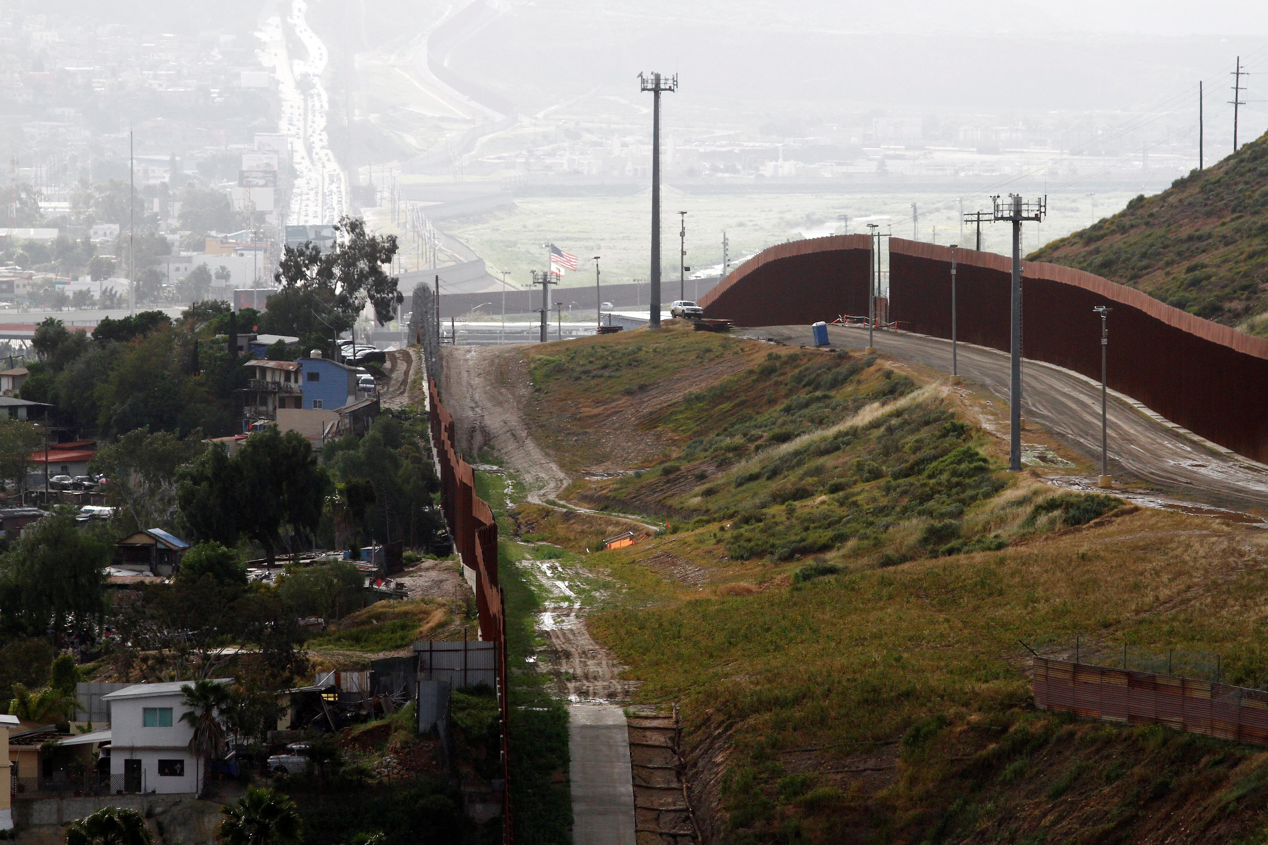 الحدود بين الولايات المتحدة والمكسيك - 12 مارس 2020