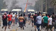 اندلاع مظاهرات في مدينة سبيطلة التونسية بعد مقتل مسن