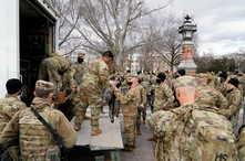 جنود الحرس الوطني في العاصمة الأميركية واشنطن