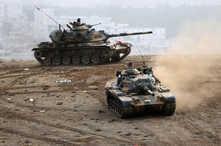 القوات التركية تشن عملية عسكرية في شمال العراق