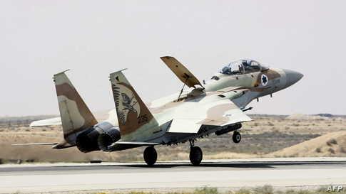 مقاتلة تابعة لسلاح الجو الإسرائيلي_أرشيف.