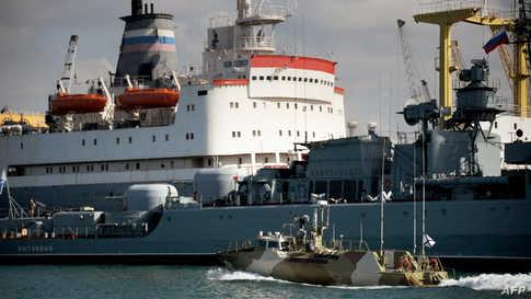 تملك روسيا منشأتين عسكريتين دائمتين في سوريا هما قاعدة جوية في محافظة اللاذقية وقاعدة بحرية في طرطوس على البحر المتوسط