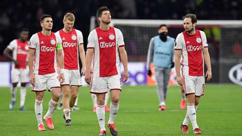 اياكس كان يتصدر ترتيب الدوري الهولندي قبل تعليق المنافسات