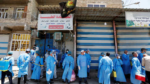 تحول بغداد إلى بؤرة لتفشي الفيروس في البلاد