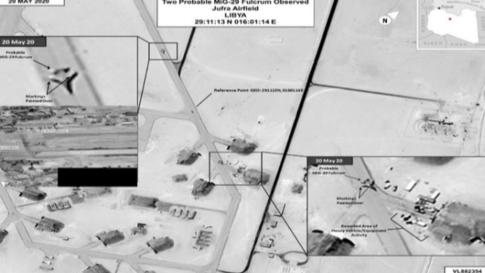 الولايات المتحدة تكشف تفاصيل إضافية عن عمليات التمويه التي تقوم بها روسيا لإرسال مقاتلات إلى ليبيا