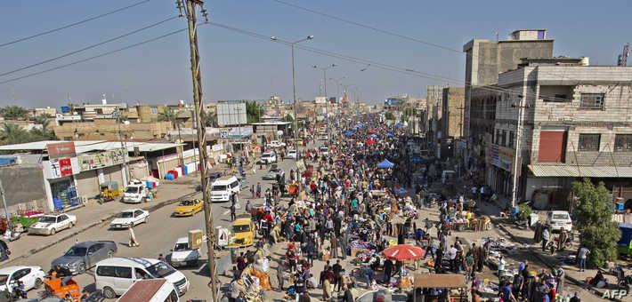 سجل نحو نص حالات الإصابة الجديدة في بغداد بواقع 82 حالة، فيما جاءت البصرة ثانيا بـ 32 حالة