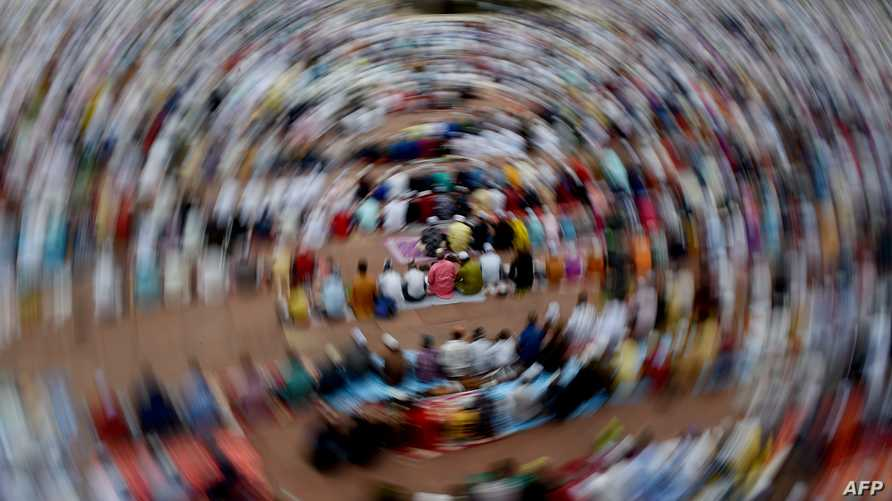 صلاة عيد الأضحى في أحد مساجد الهند
