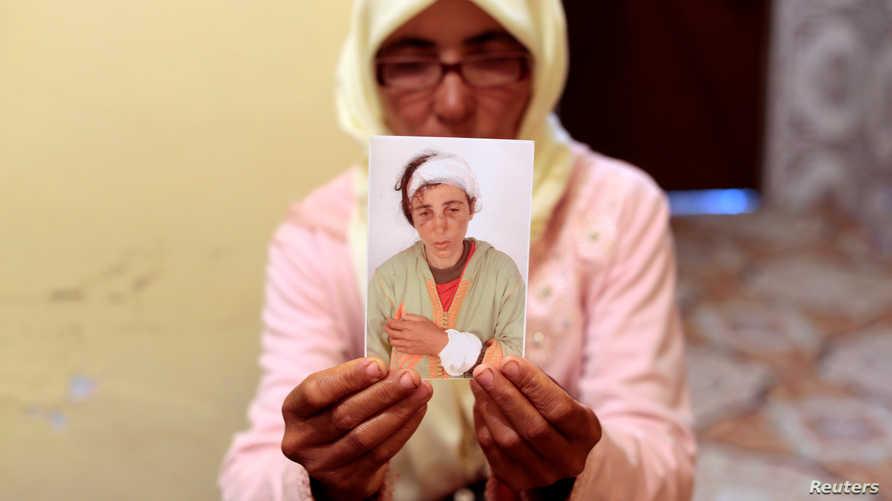فاطمة بن غالة، إحدى ضحايا العنف المنزلي