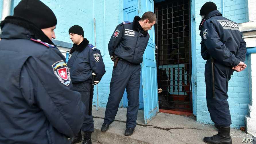 عناصر من الشرطة الأوكرانية -أرشيف
