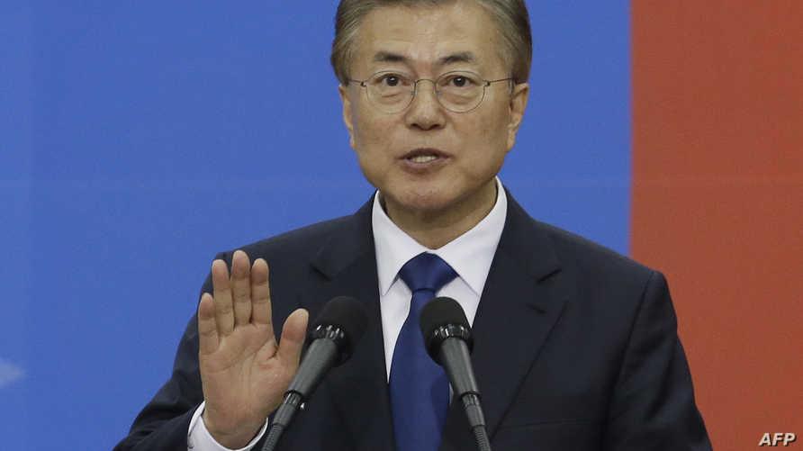 رئيس كوريا الجنوبية الجديد مون جاي-أن