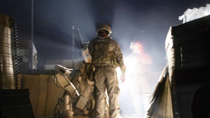 جندي أميركي في تدريبات عسكرية في سوريا بأغسطس 2019
