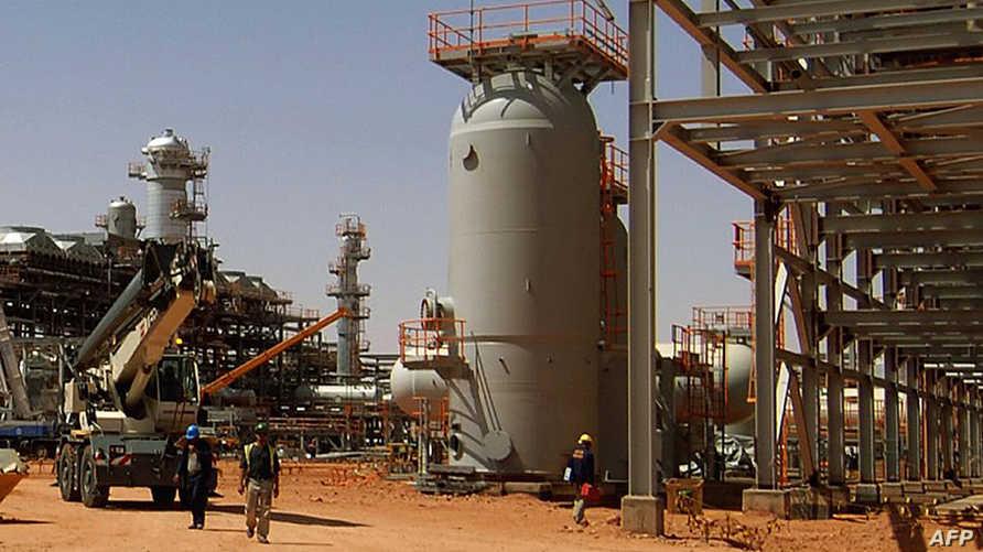 منشأة طاقة في الجزائر