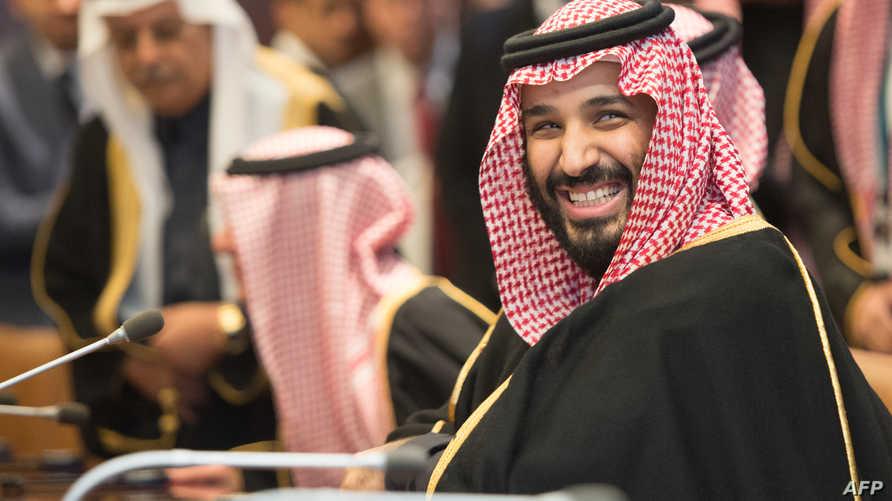 محمد بن سلمان خلال زيارته للأمم المتحدة