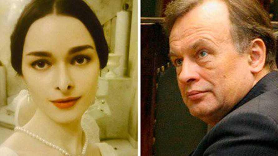 أوليغ سوكولوف وعشيقته أنستازيا