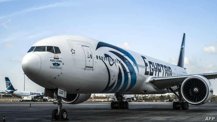 طائرة تابعة لشركة مصر للطيران -أرشيف