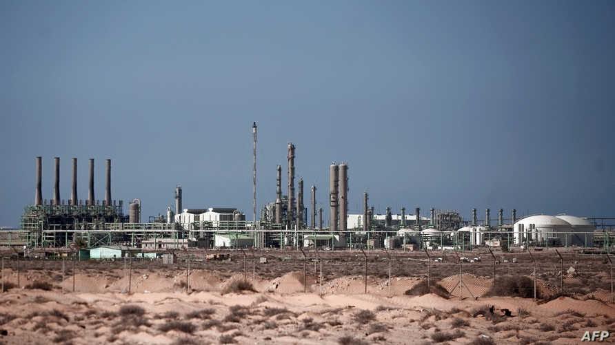 صورة عامة لميناء راس لانوف النفطي شرقي ليبيا