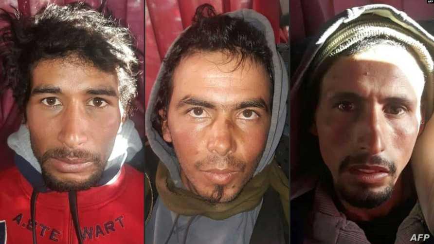 صور المشتبه بقتلهم إسكندينافيتين في المغرب فور توقيفهم