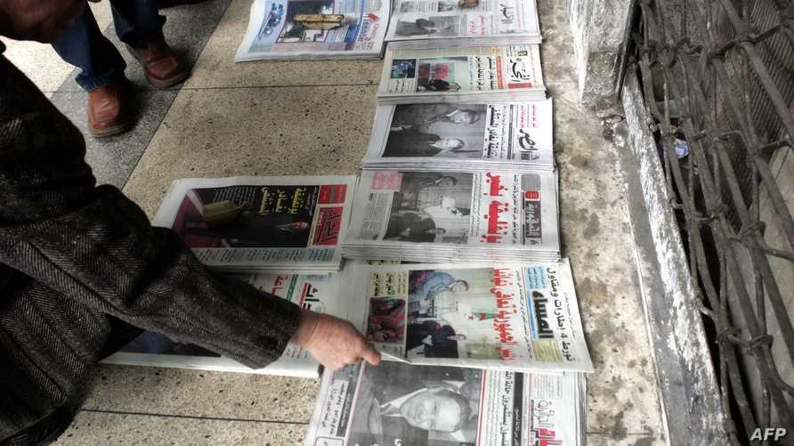 عدد الصحف فاق المائة في الجزائر