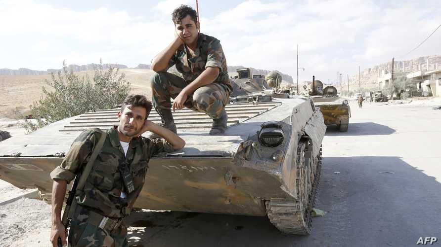 عناصر من قوات النظام- أرشيف