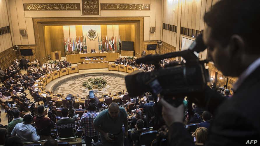 خلال الاجتماع الطارئ الأحد في مقر الجامعة العربية بالقاهرة