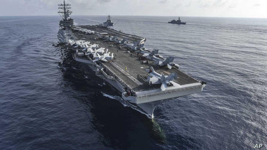 حاملة الطائرات USS رونالد ريغن