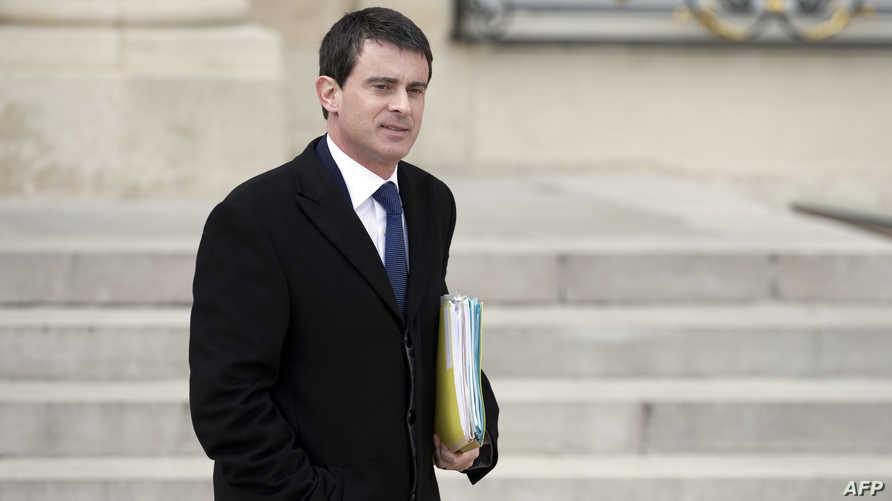 وزير الداخلية الفرنسي مانويل فالس-أرشيف