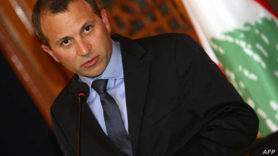 وزير الخارجية والمغتربين اللبناني جبران باسيل