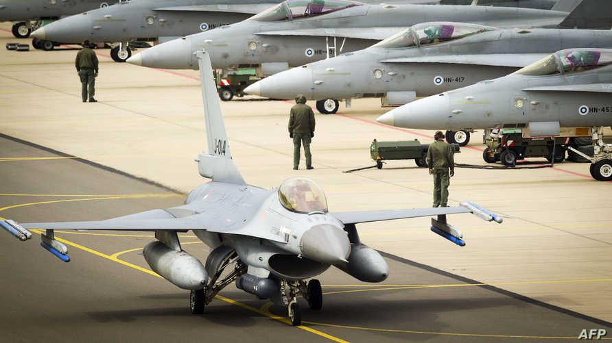 مقاتلة أميركية من طراز إف 16
