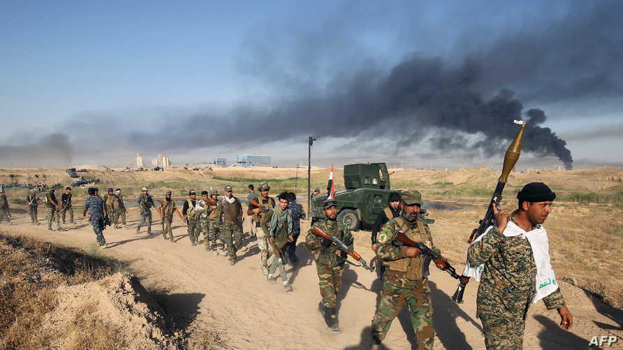 قوات عراقية في الأنبار- أرشيف