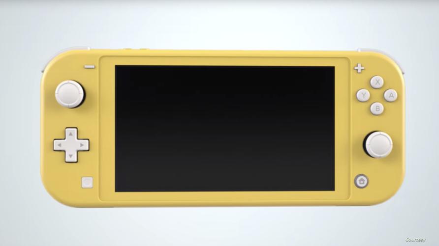 Nintendo Switch Lite  جهاز ألعاب جديد من شركة نينتندو