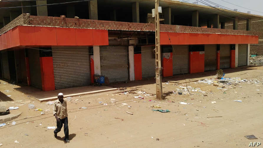 اليوم الثاني من العصيان المدني في السودان