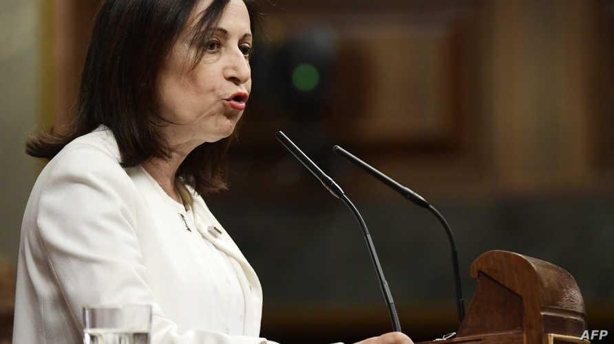 وزيرة الدفاع الإسبانيةمارغاريتا روبليس