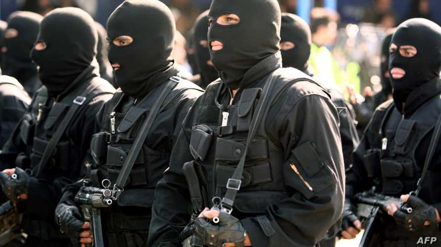 عناصر في القوات الخاصة الإيرانية- أرشيف