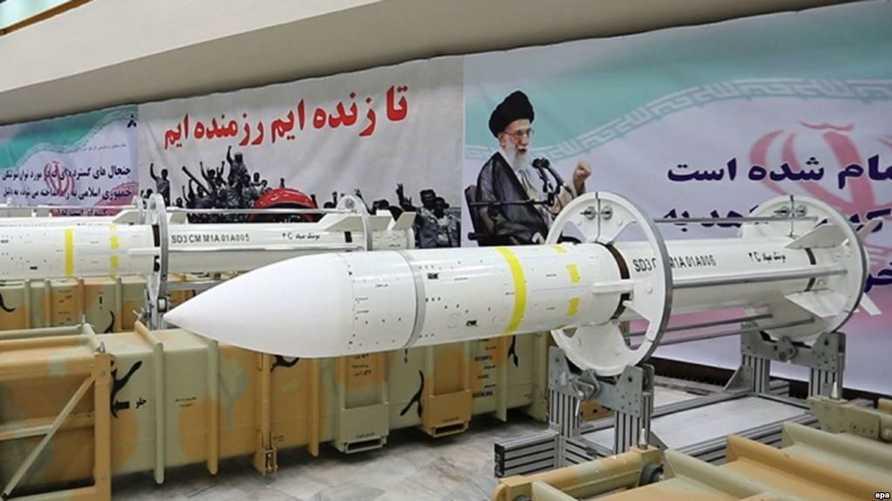 صواريخ إيرانية - المصدر: Radio Farda