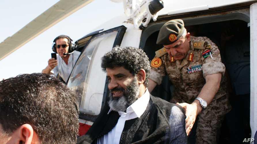 عبد الله السنوسي رئيس المخابرات السابق في عهد معمر القذافي