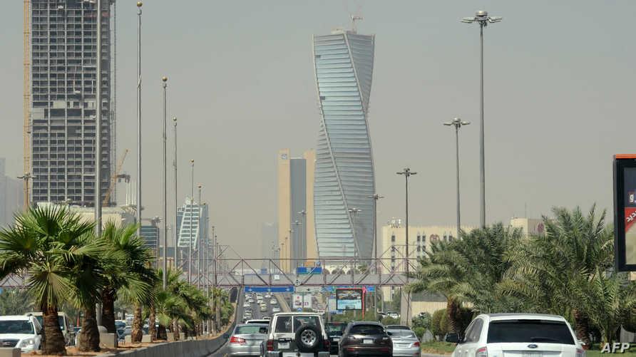 مشهد من العاصمة الرياض