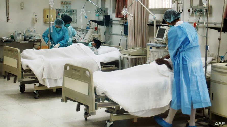 داخل أحد المستشفيات في الكويت