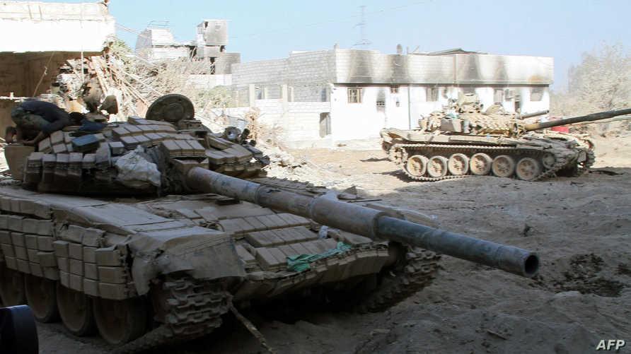 دبابات تابعة للجيش السوري - أرشيف