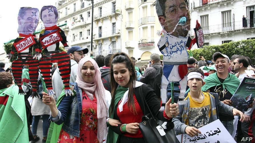 احتجاجات سابقة بالجزائر ضد رموز النظام