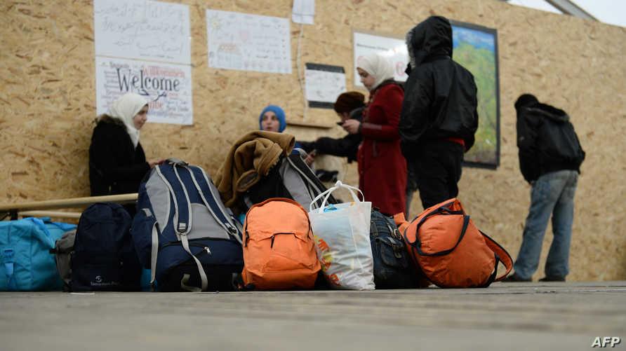 لاجئون في ألمانيا- أرشيف